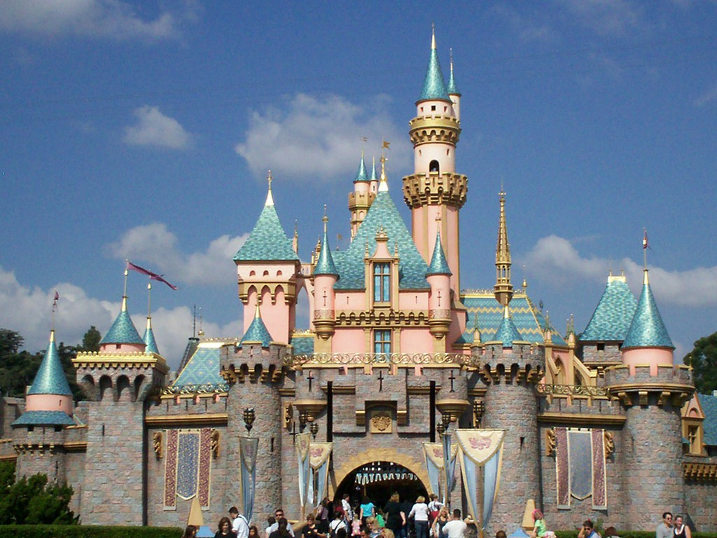 Disneyland-Castle