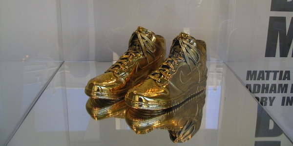 Gold-Dipped-Nikee-Sneakers
