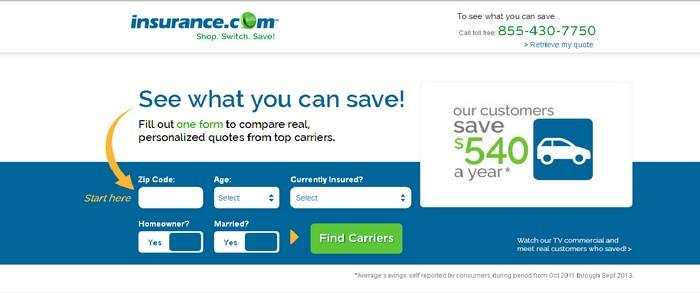 insurance domain name