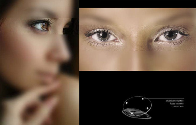 Swarovski-Contact-Lenses